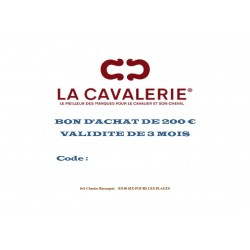 CHEQUE CADEAU 50 €