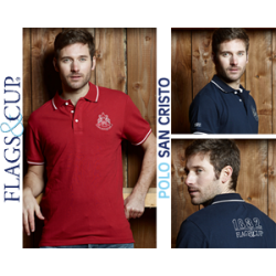 FAGS&CUP SAN CRISTO POLO SHIRT FOR MEN