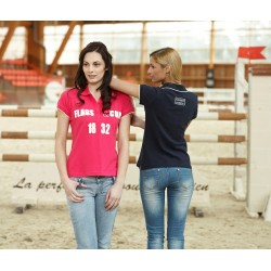 FLAGS&CUP ALBA POLO SHIRT FOR WOMEN