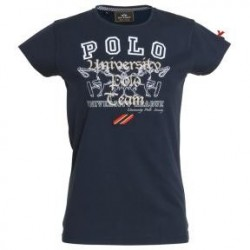 BLUE-NAVY HV POLO BRISA T-SHIRT FOR WOMEN