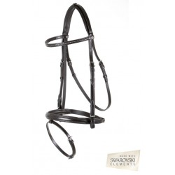 BLACK CASTLEFORD SNAFFLE BRIDLE FROM BR