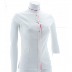 ISCHIA COMPETITION SHIRT WITH FAKE SLEEVES FOR WOMAN