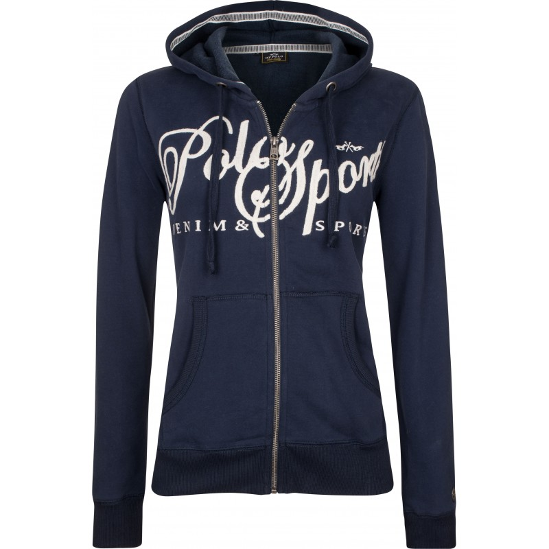 HV POLO TAMI SWEATSHIRT WITH HOOD FOR GIRLS
