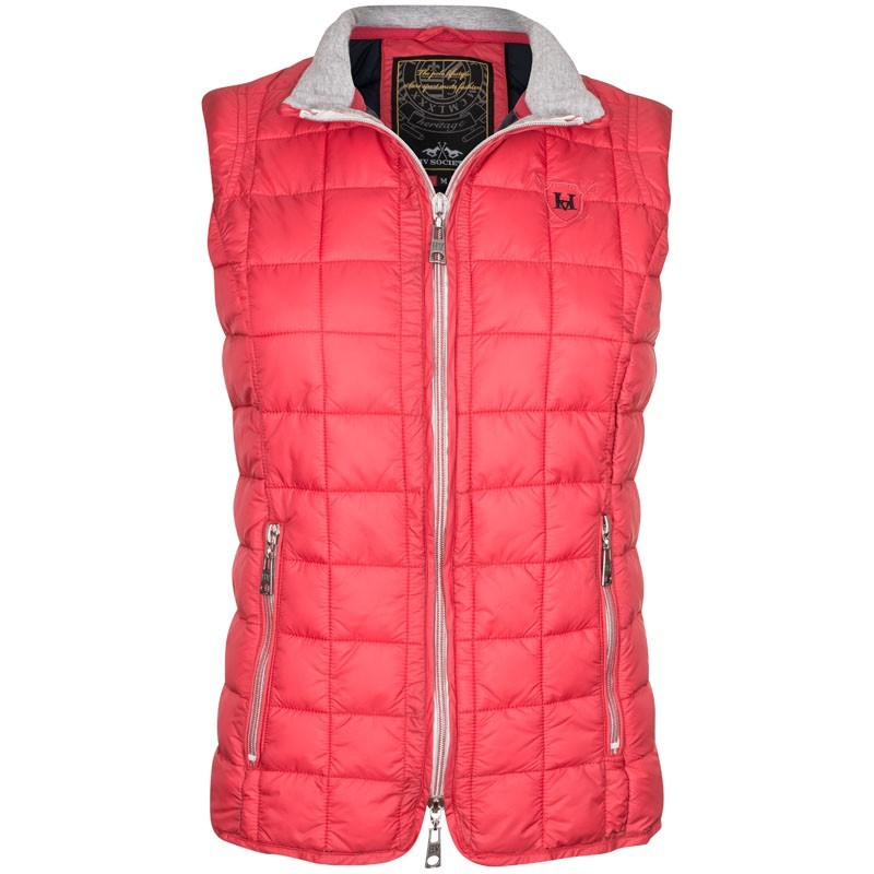 RED HV POLO VASA WAISTCOAT WITHOUT SLEEVES