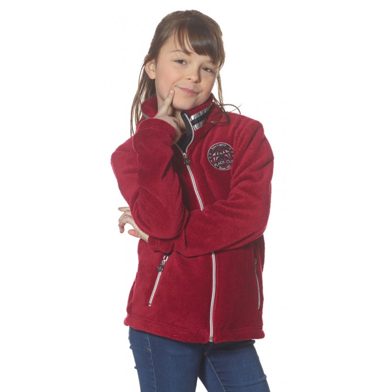 FLAGS&CUP KALAMAZOO FLEECE JACKET FOR CHILDREN