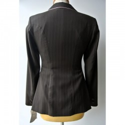 STRIPED COMPETITION JACKET FOR WOMEN FROM HERVE GODIGNON