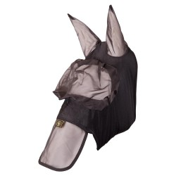 FLY MASK WITH EARS AND NOSE PROTECTION