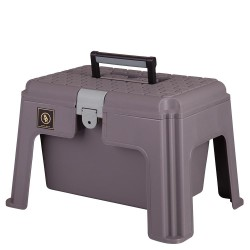 GROOMING BOX WITH STOOL