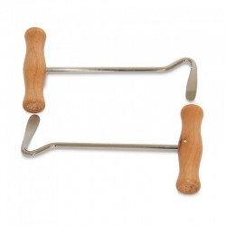 BOOT HOOKS WITH WOODEN HANDLE