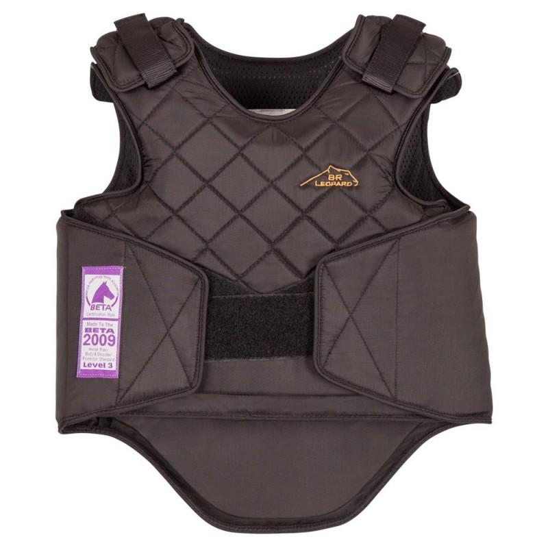 GILET PROTECTION ENFANT LEOPARD XS